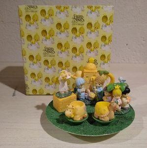 Precious Moments Nativity Mini Tea Set